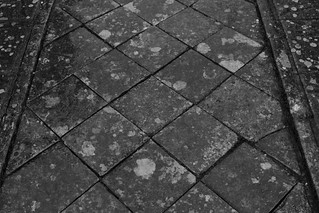 Paving, Corfe Castle