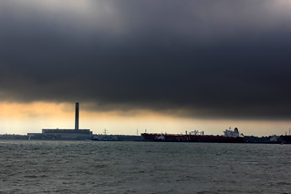 Stormclouds over Fawley...