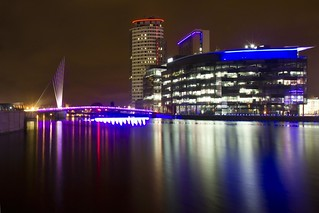 Mediacity at Night