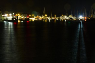 Yarmouth Harbour by Night