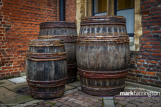 Hampton Court - Barrels