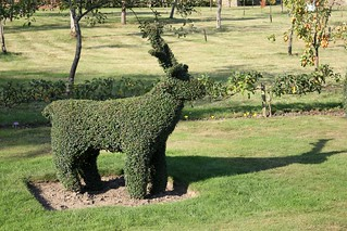 Topiary Deer, Heaver...