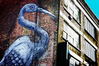 Heron Graffiti