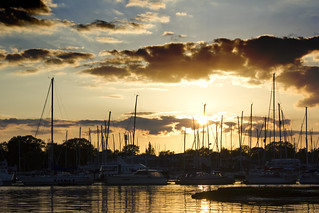 Sunset in Warsash/Hamble...