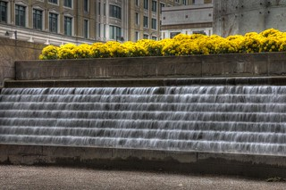 Docklands Fountain HDR