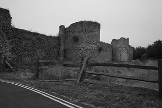 Old Fence and Castle...