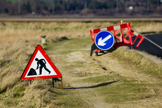 Roadworks on the Coast...