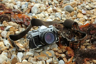 My old film SLR on the...