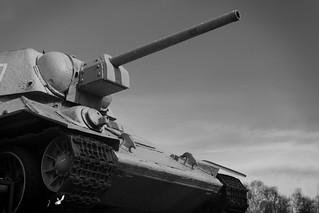 Russin Tank, Soviet War...