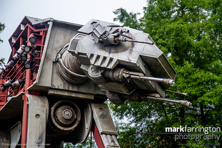 AT-AT Walker outside Star Tours