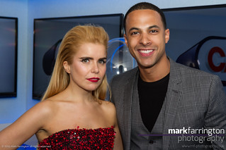 Marvin Humes & Paloma Faith